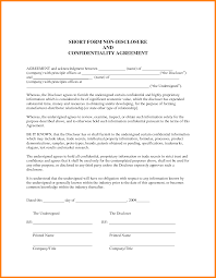 8 Employee Confidentiality Agreement Template Free This Is