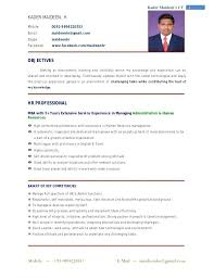 Professional Resume Guidelines Resume Cover Sheet Format ...
