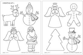 christmas card stencils christmas set printable templates coloring pages firstpalette com