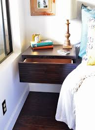 modern floating nightstands this is a