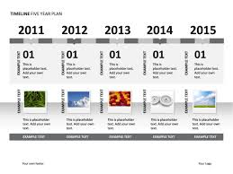 5 year timeline template powerpoint slide timeline diagram 5 years illustrated p34 6