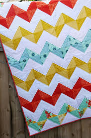 Chevron Quilt Pattern Fascinating Quilting Blocks Half Square Triangle Tutorial Chevron Quilt Half