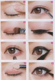 how to do eye makeup on diffe eye shapes eye makeup tutorial pics for s eye