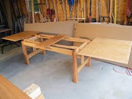 Refectory table or dutch pullout - by jeepersparky @ LumberJocks.com ~  woodworking community