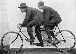 Znalezione obrazy dla zapytania rower tandem