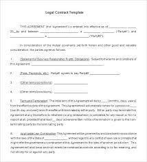 Yearly Contract Templates Samples Of Daycare Contracts Free Word ...