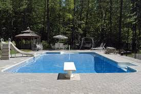 inground pools with diving board and slide. Slide Background Inground Pools With Diving Board And M