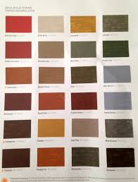 Arborcoat Solid Stain Color Chart Sherwin Williams Semi Solid Stains For Deck Fence In 2019