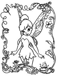 Small Picture Free Printable Disney Fairies Coloring Pages For Kids