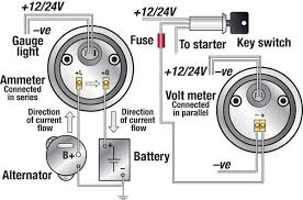 troubleshooting boat gauges and meters magazine voltmeter connection circuit illustration