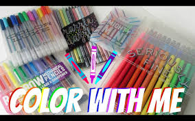 Color With Me Tools For Adult Coloring Books Youtube