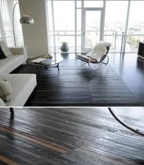 leather flooring made from recycled belts