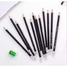 HỘP 12 CHIẾC] Hộp bút chì 2B cao cấp - Bút chì 2B cho học sinh sinh  viên_bút chì bé tập viết chính hãng 19,400đ