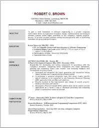 Sample Resume Objectives Statements Good Resume Objectives Barraques Org