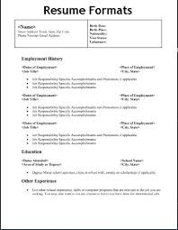 types of resume pdf different types of resumes samples experience resumes  types of resume writing pdf