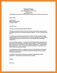 Cover Letter Example Pdf Waa Mood Email Writing Format Job