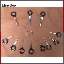 <b>11Pcs</b>/<b>Set Terminal</b> Removal Tools <b>Car Electrical</b> Wiring Crimp ...