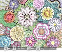 Small Picture More Coloring Pages for Adults Zentangle Flowers Adult coloring