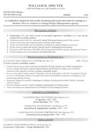 Change Manager Project Manager Sample Resume