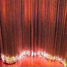 curtain fiber light