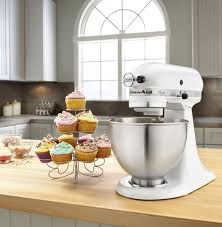 kitchenaid mixer white. kitchenaid® classic series 4.5-quart tilt-head stand mixer | walmart canada kitchenaid white