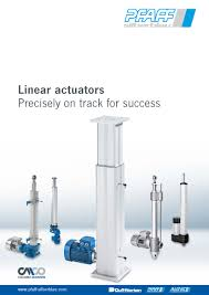 concentrated linear power at a glance new linear actuators concentrated linear power at a glance new linear actuators catalogue from pfaff silberblau