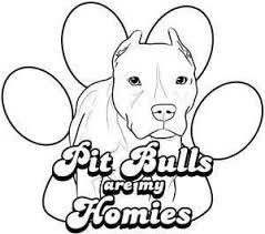 Small Picture 13 best Pit Bull color pages images on Pinterest Coloring pages