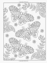 Kleurplaten Mandala Vlinder Portret Creative Haven Mehndi Designs