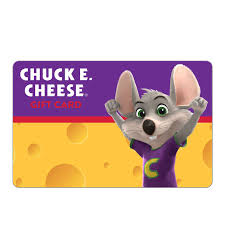 Chuck E Cheese $25 Gift Card - Walmart.com - Walmart.com