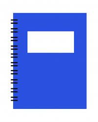 Spiral Planner Notebook Clipart