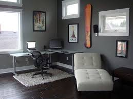 living room home office workspace. Home Office, Office Workspace Modern Furniture Interior Cool Black White Living Room L