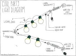 How To Hang Outdoor String Lights Mesmerizing How To Install Outdoor String Lights Myyour