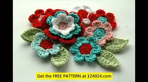 Small Crochet Flower Pattern Magnificent Decorating Design
