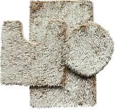 modern bath rugs 3 piece shiny chenille bath rug set includes rug contour and lid cover modern bath rugs