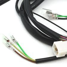 norda wiring harness minimal fits honda cb350 cl350 sl350 norda wiring harness minimal