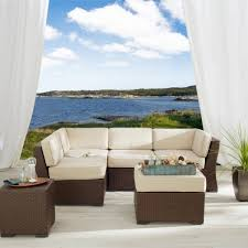outdoor furniture outlet amazing strathwood griffen wicker sectional patio furniture discount