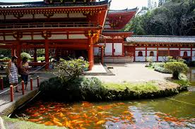 Image result for fish pond temple