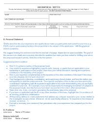 biography templates examples personal professional  biographical sketch 02 biography sample 14 · biographical sketch 03