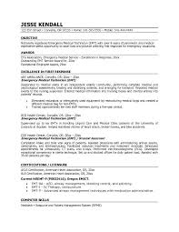 Emt Resume Template Best of Emt Resume Examples Sonicajuegos