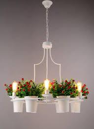 Blume Gras Lampe Moderne Decke Kronleuchter Wohnzimmer Hause