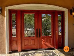 Fiberglass Double Entry Doors With Sidelites