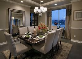 dining room mirror decor modern contemporary dining room chandeliers plans