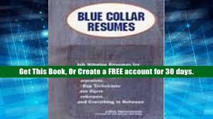 Open Ebook Blue Collar Resumes Job Winning Resumes For Artisans