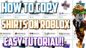 How To Make Roblox Pants Easy How To Copy Steal Shirts And Pants On Roblox Tutorial
