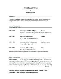 Nursing Resume Objective Example Builderresume