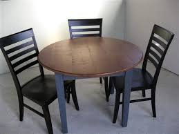 4 foot round kitchen table made from reclaimed wood