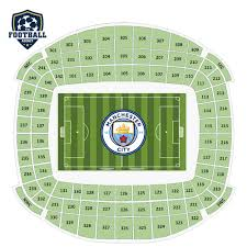 Etihad Stadium Manchester Seating Chart Manchester City Vs Burnley