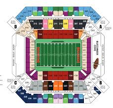Raymond James Stadium Seating Chart Outback Bowl Raymond James Stadium Tampa Fl Seating Chart View