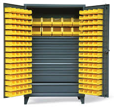Strong Hold Cabinets All Welded Bin Storage Cabinets Small Parts Storage Cabinet