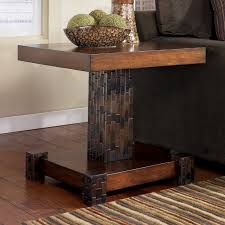 Fascinating Reclaimed Wooden Single Stand Entryway Table With Grey